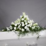 9. Vita nejlikor, Vita liljor, Vita Iris, Vita prärieklockor, plumosa