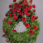 2. Röda rosor, Röda nejlikor, Röda germini